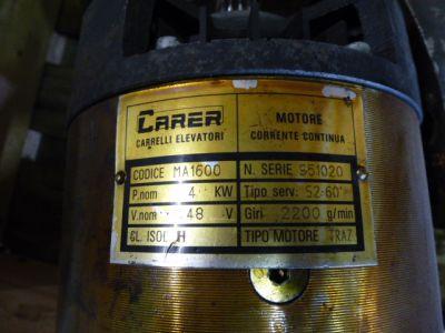 aandrijfmotor Carer 48V-4Kw
