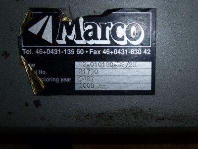 Heftafel Marco M2 01030-D2.2H