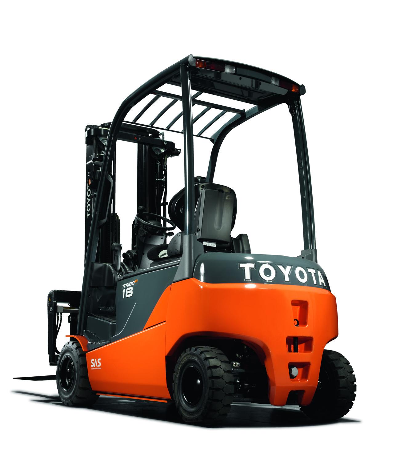Toyota Traigo 4 Wiel Uitvoering 8fbmt Serie Geven